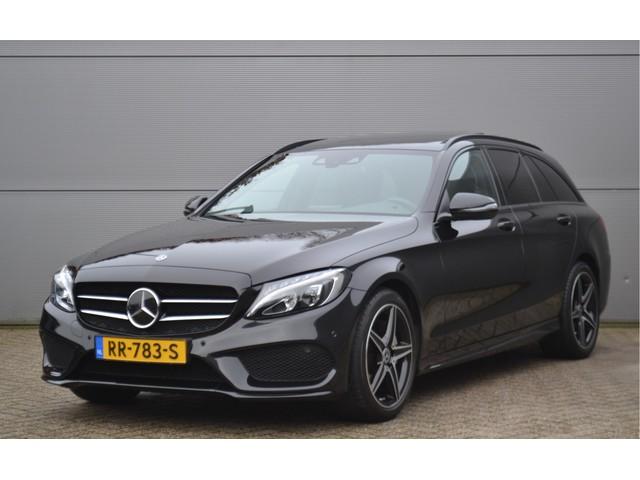 Mercedes-Benz C-Klasse Estate 200 184PK Aut. 9G Sport Edition AMG Line, Night pak. Pano.
