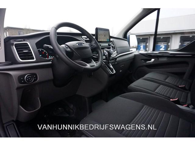 Ford Transit Custom 300L 130PK Limited Aut €374   Maand Airco, Camera, Cruise,Trekhaak Navi Blind Spot!! NR. 922