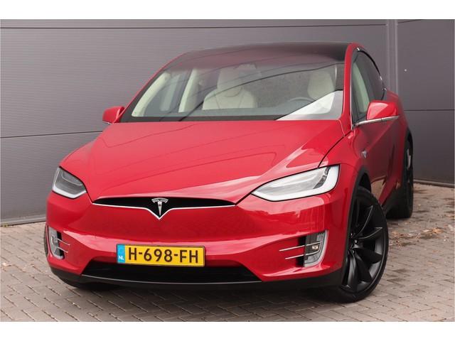 Tesla Model X 100D 4% Bijtelling (Excl. BTW) Autopilt 2.0 Luchtv. Pano Trekh. 22''