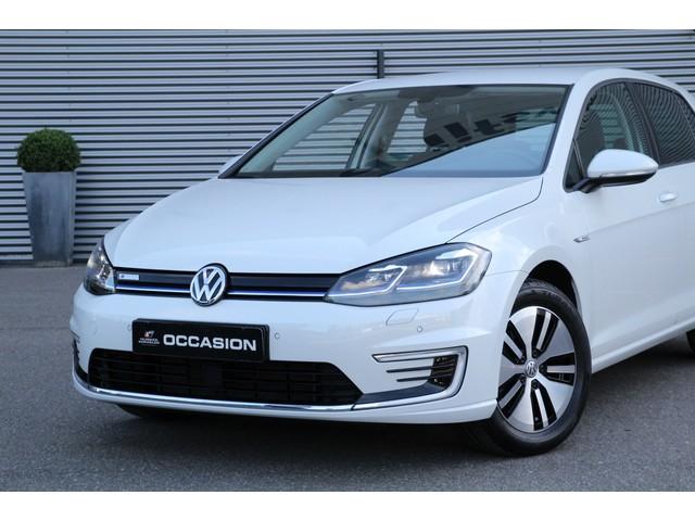 Volkswagen e-Golf E-DITION 136pk Automaat 5 jaar fabrieksgarantie Virtual cockpit Navigatie Adaptive cruise control LED koplampen DAB Parkeersenso