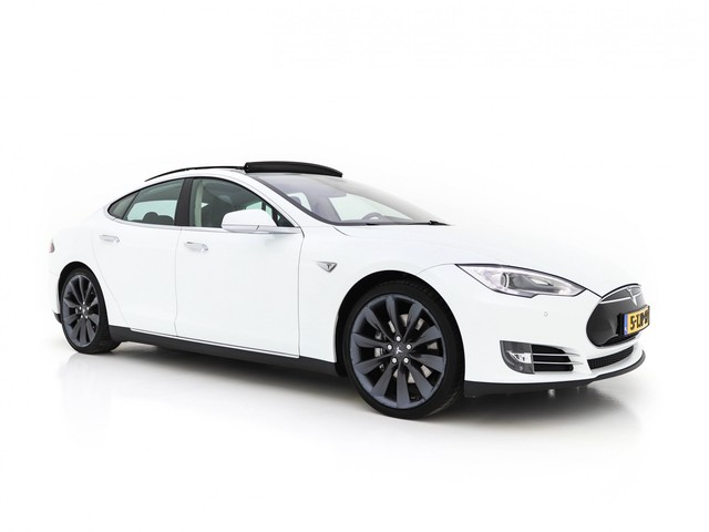 Tesla Model S 85 Base Cold-Climate-Pack  7-Pers Aut. (INCL-BTW ) FREE CHARGING *PANO+VOLLEDER+XENON+CAMERA+AIR-SUSPENSION+ECC+PDC+CRUISE*