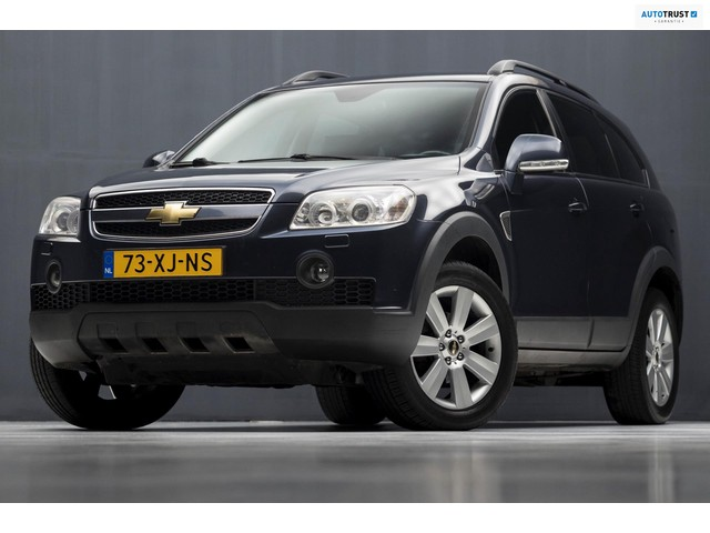 Chevrolet Captiva 3.2i Limited Edition 7 Pers Automaat (CLIMATE, LEDER, 7 PERSOONS, TREKHAAK, ELEKT. PAKKET, NIEUWSTAAT)