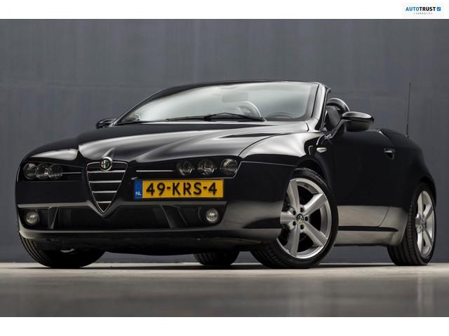 Alfa Romeo Spider 2.2 JTS Exclusive Luxe Sport (LEDER, STOELVERWARMING, MEMORY STOELEN, NIEUWSTAAT)