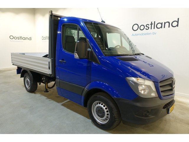 Mercedes-Benz Sprinter 310 Automaat Open Laadbak   Pick Up   Hiab 013T Kraan   Airco   3-Zits   Trekhaak   50.800 KM !!