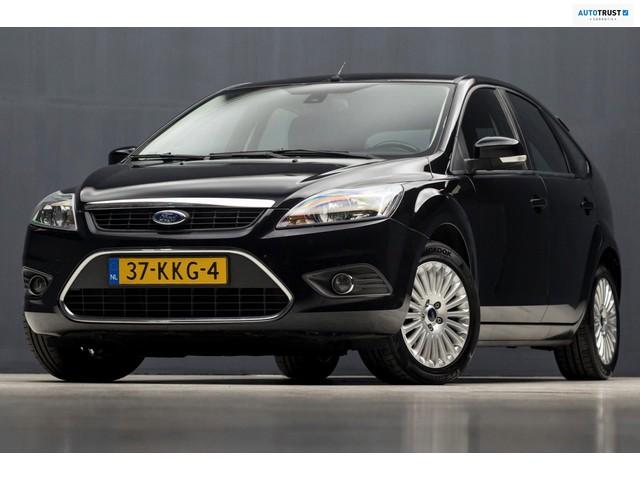 Ford Focus 1.8 Limited Titanium sport (LEDER, AIRCO, SPORTSTOELEN, STOELVERW, CRUISE, LM VELGEN, TREKHAAK, NIEUWSTAAT)