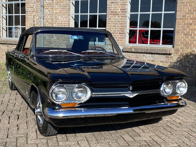 Chevrolet Corvair Cabriolet 1964 Convertible *SUPER STAAT* Elec. Kap, Leder, Radio  CD