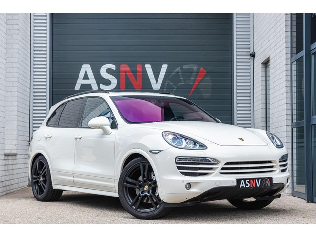Porsche Cayenne 4.8 S, 400 PK, Sport Uitlaat, Pano Dak, 18 Way, PASM, PTV Plus, Camera, Trekhaak, 166DKM, Org. NL!!
