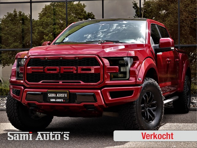 Ford USA F-150 RAPTOR | 3.5 V6 457PK | SUPERCREW | TONNEAU COVER | UNIEKE UITVOERING | Bij ons GEEN vanaf prijs. Maar inclusief alle vermelde o
