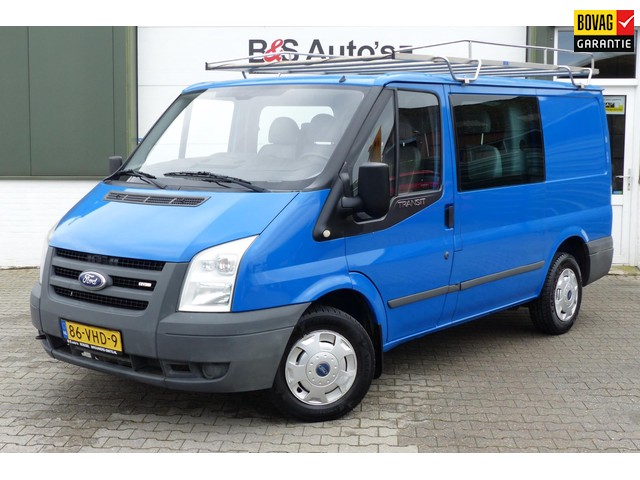 Ford Transit 260S 2.2 TDCI DUBBEL CABINE 6 PERSOONS TREKHAAK IMPERIAAL