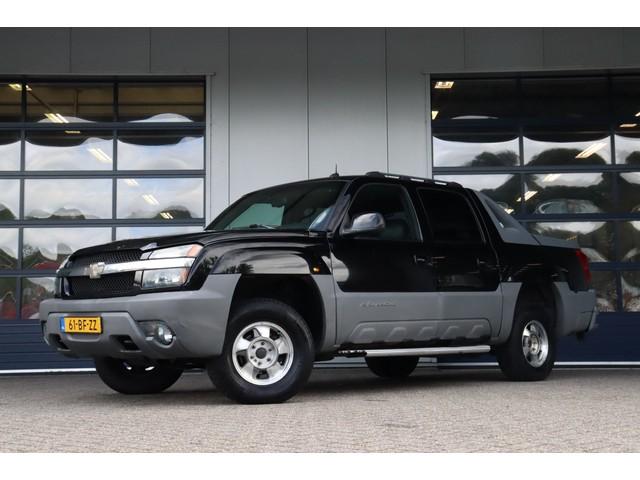 Chevrolet Avalanche 5.3 4WD 1500   Youngtimer   Marge   Schuif-kanteldak   Trekhaak   Leer   Airco