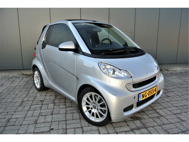 Smart Fortwo cabrio 1.0 mhd Passion Automaat Airco