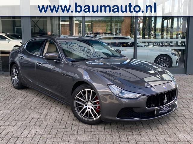 Maserati Ghibli ZONDAG AUTOSHOW Q4 3.0 V6 411PK BI-TURBO 4WD FULL OPTIONS
