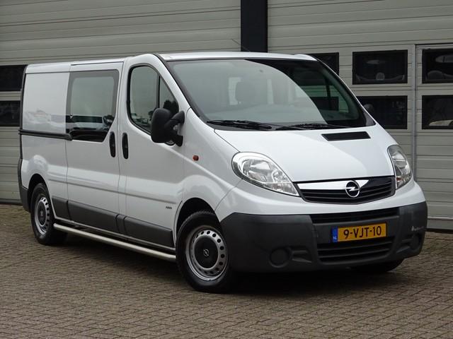 Opel Vivaro 2.0 CDTI 115pk L2 - DC - Airco - 5 Pers.