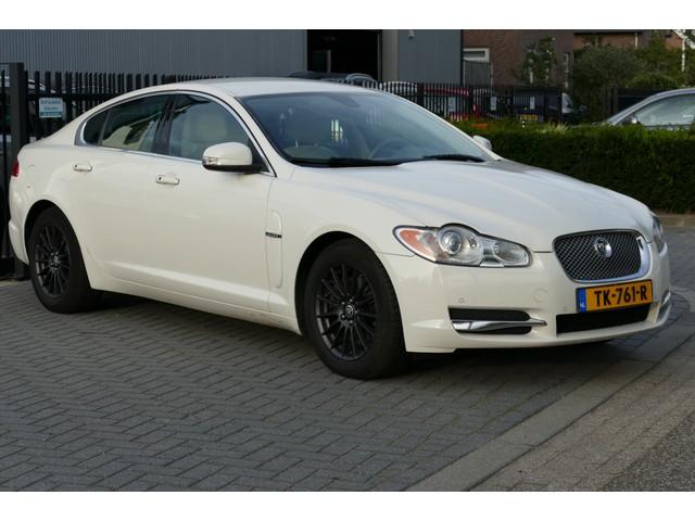 Jaguar XF 2.7D V6 Luxury 147.697KM. Leer, Xenon, Navi, Clima, Cruise, Camera, Stoelverw&Koeling