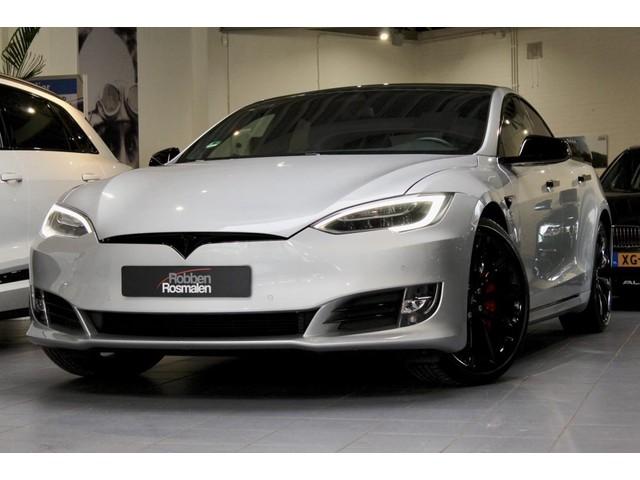 Tesla Model S 100D 422PK AWD   PANO   BLACK P  05-2018  EX BTW