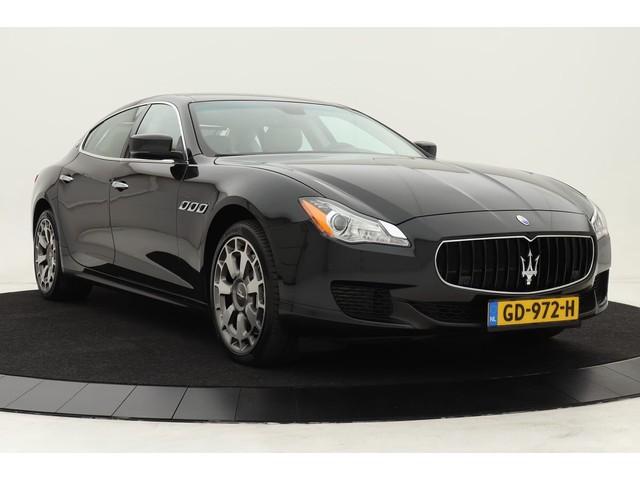 Maserati Quattroporte 3.8 V8 GTS | Volleder | Bowers Wilkins High Premium Sound | Sabbia Volleder | Ebano hout | Camera | Memory | 20