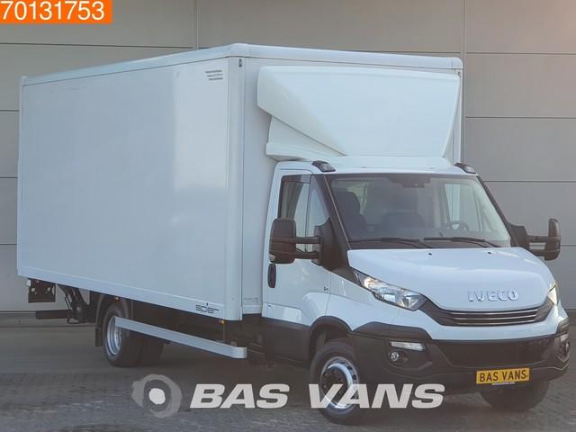 Iveco Daily 70C18 180PK Automaat Euro6 Bakwagen Laadklep Koffer Luftfederung Airco Cruise control