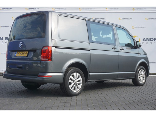 Volkswagen Transporter T6 2.0 TDI Dubbele Cabine L1H1 **30.981KM!** Airco, Cruise, PDC