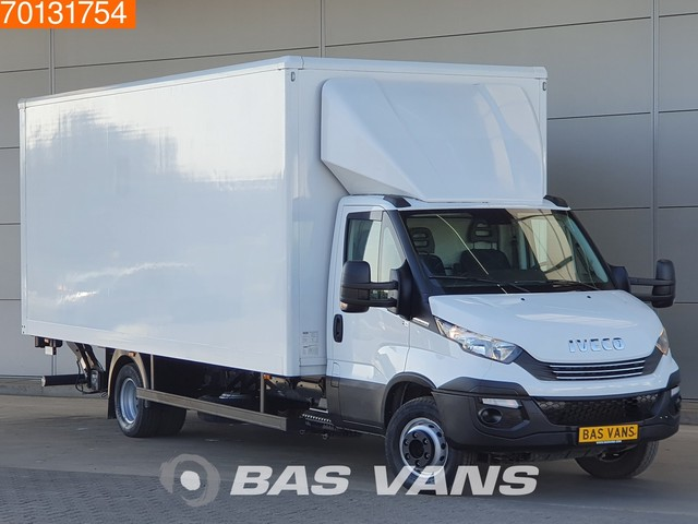Iveco Daily 70C18 Euro6 Bakwagen Laadklep Koffer Luftfederung Airco Cruise control