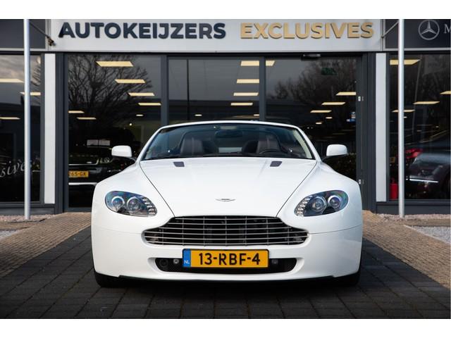 Aston Martin V8 Vantage Roadster 4.7 V8 Sportshift 1e eigenaar Leder Navi Cruise Stoelverw  Zondag a.s. open!