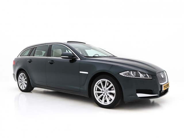 Jaguar XF Sportbrake 3.0D S Premium Business Edition Aut. *SUNROOF+XENON+VOLLEDER+NAVI+PDC+ECC+CRUISE+CAMERA+MEMORY*