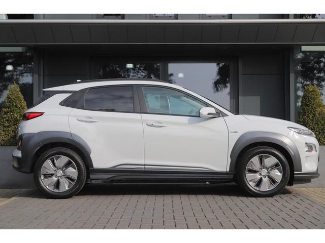 Hyundai Kona EV 64 kWh | Ex BTW | Navi | Camera | ACC | Stoel- Stuurverwarming  | HUD | Leder