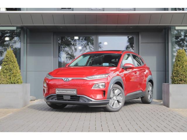 Hyundai Kona EV 64 kWh | Ex. BTW | Pano | Navi | Stoelverw. V+A | Stoelvent | Leder | HUD | Keyless