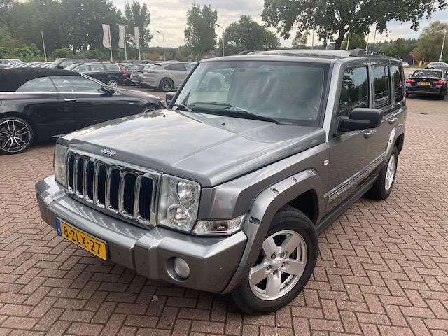 Jeep Commander 3.0 V6 CRD Limited 7 Persoons   Zeer nette staat!   Keurig onderhouden!