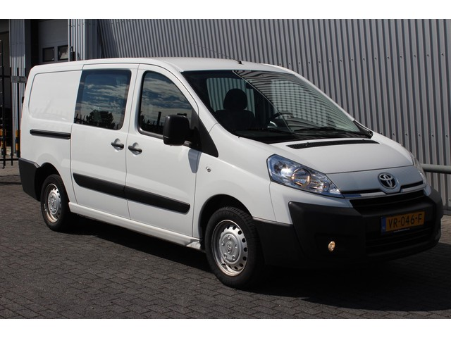Toyota ProAce 1.6D L2H1*DC*HAAK*A C*CRUISE*1e EIG*BT*6-PERSOONS*