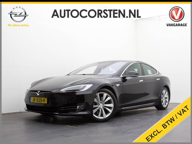 Tesla Model S 70D (Ex. Btw) New-Model! AutoPilot! 4WD Next-Gen-Seats Navigatie Spotify Leder 19