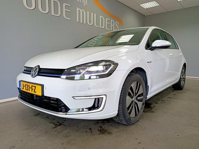 Volkswagen e-Golf e-Golf |Prijs Excl. BTW| 100kW Camera Navi Cruise |4% bijtelling|