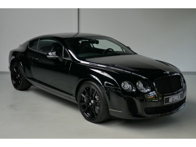 Bentley Continental GT 6.0 W12 Supersports 630 PK - Ceramic brakes