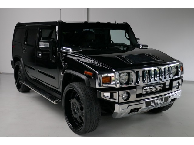 Hummer H2 6.0 V8 Exclusive DVD entertainment