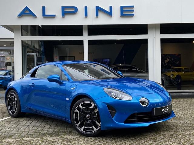 ALPINE A110 1.8 Turbo 252pk Legende Navig., Alpine Telemetrics, 320mm remschijven, 18''