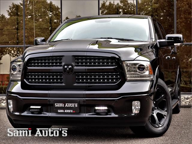 Dodge Ram 1500 BLACK BEAST | 5,7 V8 HEMI 4X4 | LUCHTVERING SER | FULL OPTIONS | DUBBELE CABINE CREWCAB | 401 PK | GRIJSKENTEKEN 5 PERSOONS