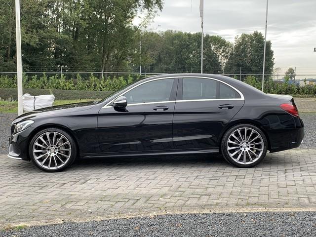 Mercedes-Benz C-Klasse 180 AMG Airco, Parkeersensoren, Burmester, Navigatie