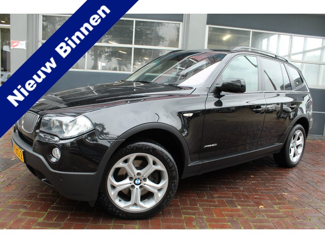BMW X3 2.0i Executive Leer,Trekhaak,18Inch,Cruise Bj 2009 Dealer onderhouden
