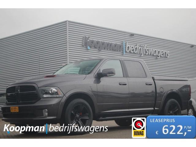 Dodge Ram 1500 5.7 V8 402pk 4x4 Crew Cab 5'7 Sport | Schuifdak | Navi | Trekhaak 3500kg | Alpine rear entertainment | Lease 622,- p m