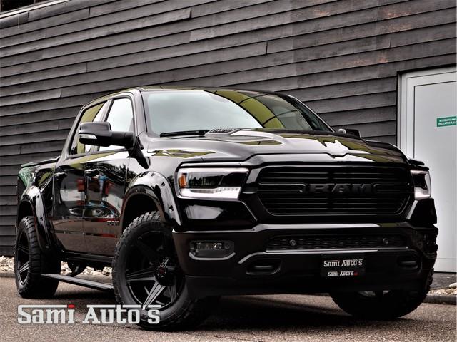 Dodge Ram 1500 NIGHT EDIT SPORT   PRIJS MET TONNEAU COVER & PRINS LPG & 36 MAAND GARANTIE & TREKHAAK   360CAM   ADAPTIVE CRUISE   PANODAK