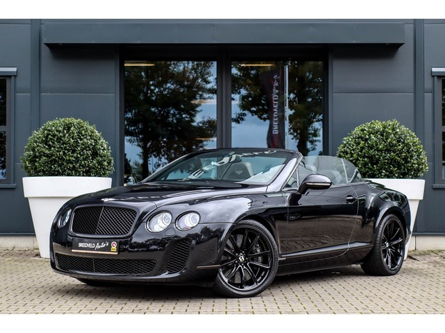 Bentley Continental Supersports Convertible, NP 357K, 2011