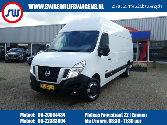 Nissan NV400 2.3 dCi L4H3 Acenta AIRCO CRUISE TREKHAAK DUBBEL LUCHT € 215 p m o.b.v. 60 maand Financial Lease
