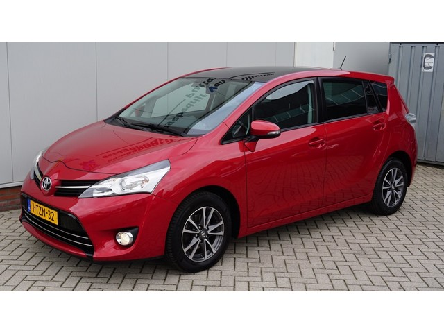 Toyota Verso 1.8 VVT-i 147pk Automaat Dynamic Business 7-persoons Pano.Dak Navi 16inch LM *Zeer nette Toyota*