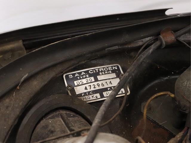 Citroen DS DS 20 PALLAS