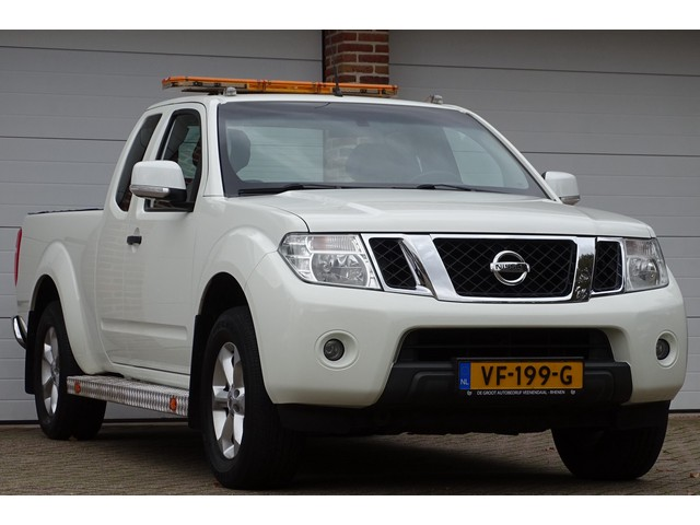 Nissan Navara 2.5 dCi XE King Cab 4X4, Climate, Trekhaak 3000KG, Cruise, Radio Cd, Bluetooth