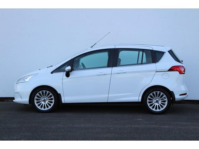 Ford B-MAX 1.0 EcoBoost Titanium | Parkeersensoren | Navigatie | Clima | Cruise | Stoelverwarming | Hoge zit | Afn Trekhaak !!