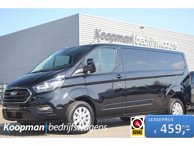Ford Transit Custom 300 2.0TDCI 170pk L2H1 Limited | Nieuw! | Automaat | Airco | Cruise | PDC | Camera | Navi | Lease 459,- p m