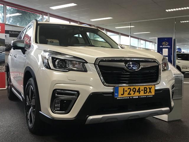Subaru Forester 2.0i e-BOXER First Edition Hybrid | NIEUW | fabr. garantie 2023 | panoramadak | eyesight | navigatie
