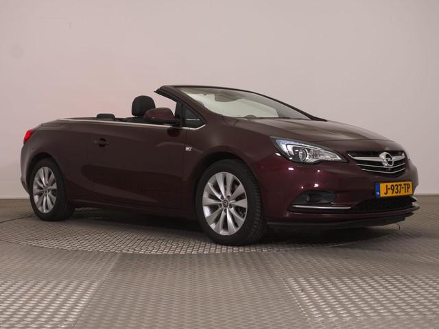 Opel Cascada 1.4 Turbo 140pk Innovation ECC NAVI LED+ ZW.LEDER+ELEK. STOELVERW. CHROOM PDC+C. 17''