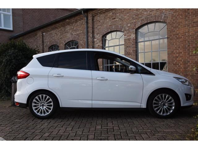 Ford C-MAX 1.0 EcoBoost 125 PK Titanium Navigatie Leder Panorama Xenon 1e Eigenaar