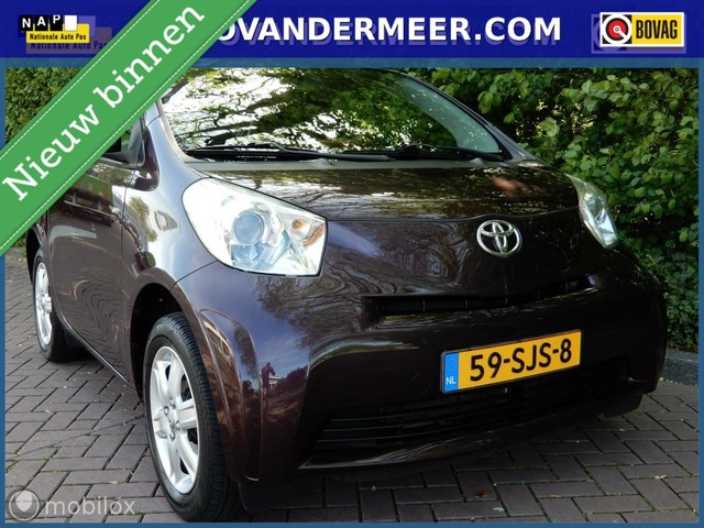 Toyota iQ - 1.0 VVTi Comfort AUTOMAAT AIRCO AUX-MP3  LAGE KMSTAND